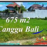 Affordable PROPERTY CANGGU BALI 675 m2 LAND FOR SALE TJCG200