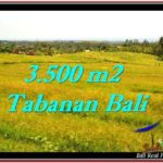 FOR SALE Magnificent 3,500 m2 LAND IN TABANAN BALI TJTB259